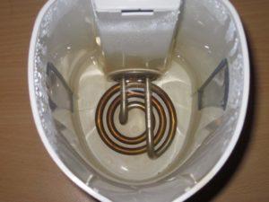Эксперимент с ТЭНом от электрического чайника
