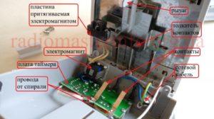 Как отремонтировать электромагнит в тостере?