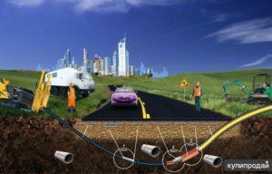 Технология бестраншейной прокладки кабеля