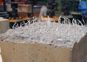 Фибра для бетона: свойства, применение