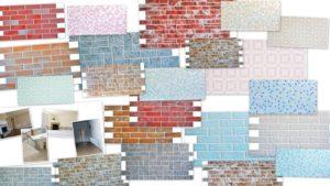 Пластиковые панели ПВХ: вид отделочного материала