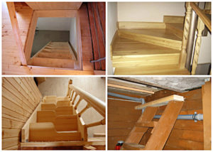 Как построить лестницу в погреб своими руками