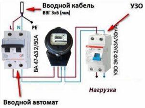 Заменить однополюсный вводной автомат на двухполюсный?