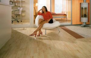 Виниловая плитка - идеальное напольное покрытие