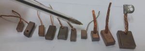 Какие бывают щетки для электродвигателей и как они маркируются