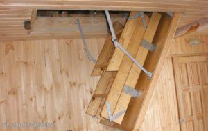Как сделать люк на чердак с лестницей своими руками