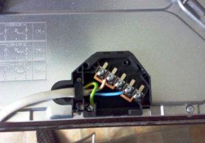 Как удлинить кабель для индукционной плиты?
