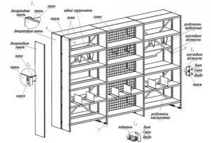 Книжный шкаф своими руками: схемы, чертежи и советы по монтажу