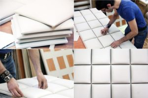 Мягкие стеновые панели. Изготовление и монтаж