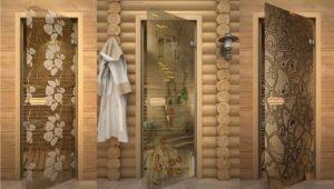 Стеклянная дверь для бани своими руками
