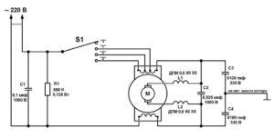 Схема кухонного миксера Scarlett SC-1041