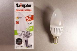 Что такое диммируемая светодиодная лампа?