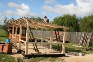 Летняя кухня на даче своими руками: пошаговая инструкция