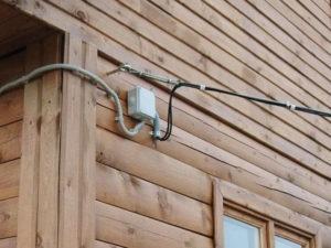 Как подключить провод СИП к частному дому