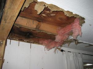 Течет крыша в доме: инструкция по устранению протечки