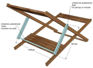 Как сделать шезлонг своими руками. Особенности конструкции, разнообразие материалов и форм. Пошаговое описание процесса изготовления шезлонга своими руками