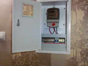 Нужен ли щиток для электросчетчика?