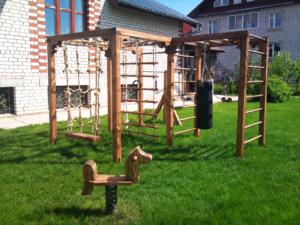 Строим детскую площадку. Детская спортивная площадка своими руками