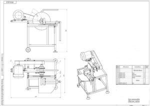 Отрезной станок своими руками: конструкция, схема, изготовление