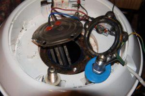 Ремонт водонагревателя своими руками
