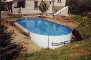 Сборный бассейн своими руками