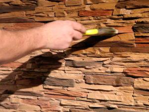 Изготовление и монтаж искусственного камня своими руками