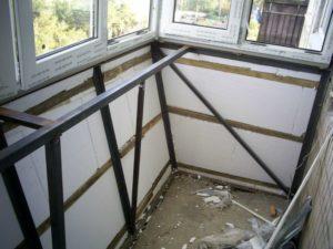 Расширение балкона: пошаговая инструкция