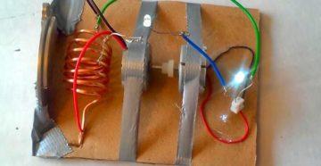Делаем бесплатное электричество — простой самодельный генератор