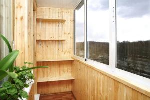 Отделка балкона своими руками