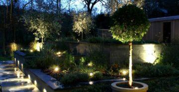 Как организовать освещение в частном дворе?