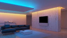 Как сделать освещение в доме?