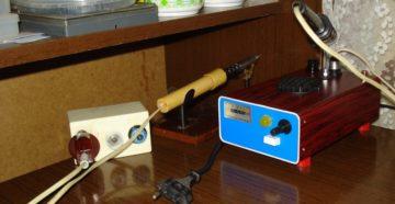 Как сделать паяльную станцию в домашних условиях